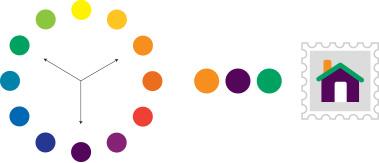 カラーの配色1